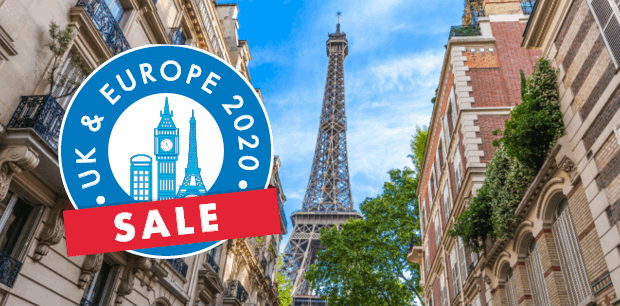 UK & Europe Sale - Accommodation