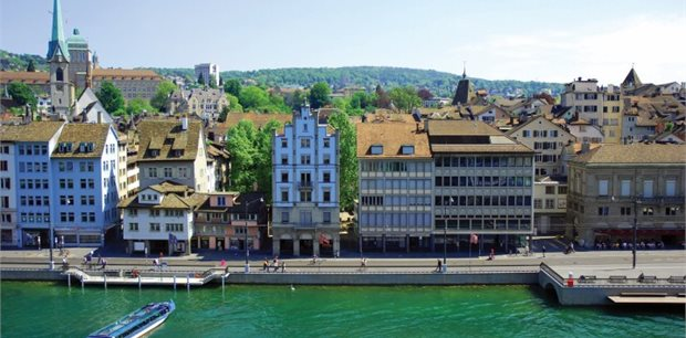 Zurich with Emirates - Business Class