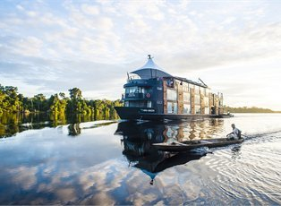 Aria Amazon, Amazon River Explorer (High Water) ex Iquitos Return