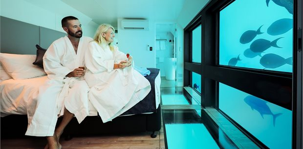Reefsuite - Australia's first underwater accommodation on the Great Barrier Reef!