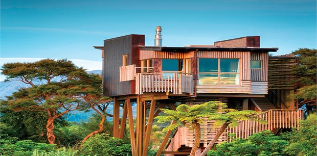 Hapuku Lodge & Tree Houses, Kaikoura