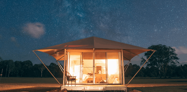 Habitat Noosa - luxury Glamping tent, Cruise'n'Canoe Everglades Cruise