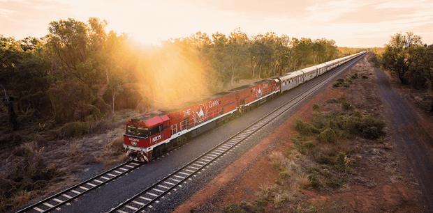 The Ghan - Adelaide to Alice Springs