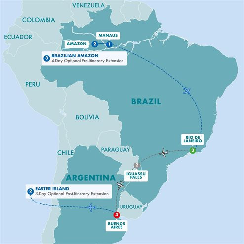 Impressions of South America