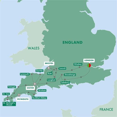Best of Devon and Cornwall