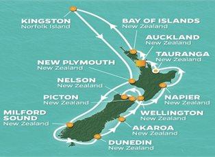 New Zealand Circumnavigation Cruise
