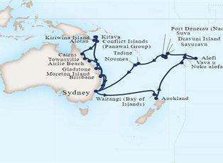 Maasdam, Australia, Melanesia & Pacific Islands ex Sydney