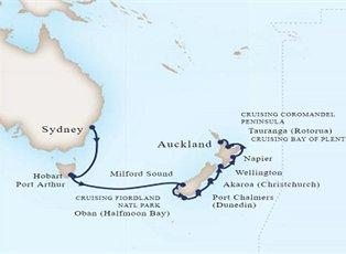 Maasdam, Australia & New Zealand ex Sydney to Auckland