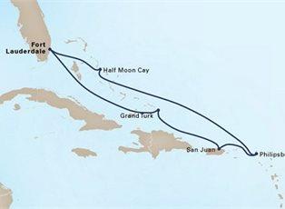 Zuiderdam, Eastern Caribbean Holiday ex Ft Lauderale Return