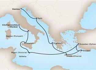 Nieuw Amsterdam, Adriatic Dream ex Venice to Rome