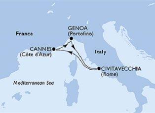 Orchestra, Italy & France ex Genoa Return