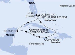 Seaside, Jamaica Cayman Is Mexico Bahamas ex Miami Return