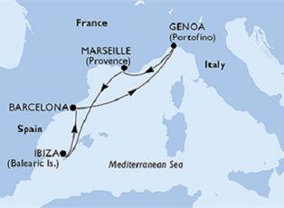 Orchestra, Italy France Spain ex Genoa Return