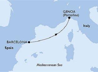 Orchestra, Spain Italy ex Barcelona to Genoa