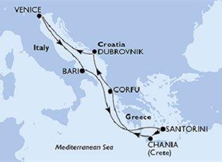 Magnifica, Italy, Greece & Croatia ex Venice Return