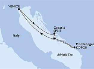 Musica, Italy, Croatia & Montenegro ex Venice Return