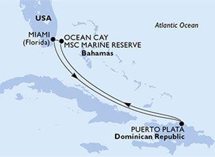 Meraviglia, Caribbean Cruise ex Miami Return