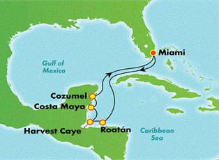 Breakaway, Western Caribbean ex Miami Return