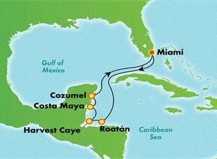 Breakaway, Western Caribbean ex Miami Return