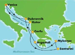 Dawn, Greek Isles ex Venice Roundtrip