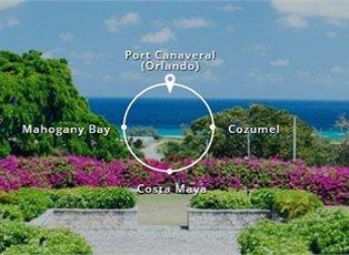 Mardi Gras, Western Caribbean ex Port Canaveral Return