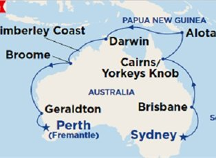 Sea, Northern Explorer 2020 ex Sydney to Perth