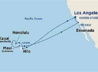 Star, Hawaiian Islands ex Los Angeles Return