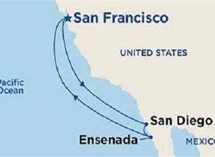 Ruby, West Coast Getaway with San Diego ex San Francisco Return