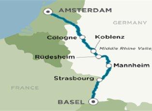 Bach, Romantic Rhine ex Amsterdam to Basel