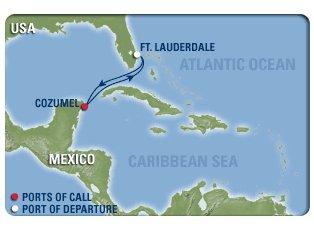 Independence, Western Caribbean ex Ft Lauderdale Return