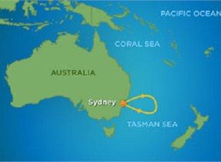 Voyager, Sampler Cruise ex Sydney Return