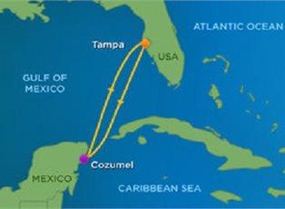 Brilliance, Western Caribbean ex Tampa Roundtrip