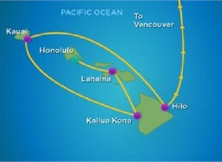Radiance, Hawaii ex Honolulu to Vancouver