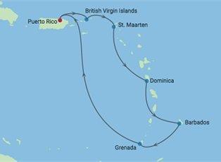 Summit, A Southern Caribbean Cruise ex San Juan Return