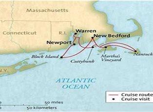 Grande Caribe, Islands of New England ex Warren Return - Canada