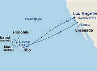 Star, Hawaiian Islands ex Los Angeles Roundtrip