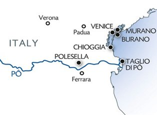Michelangelo, (VEN SAV) Venice and the Lagoon Flavor Programme ex Venice Return
