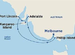 Sapphire, Southern Australia Explorer ex Melbourne Roundtrip