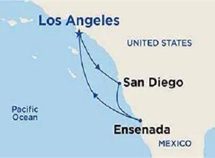 Royal, West Coast Getaway ex Los Angeles Roundtrip