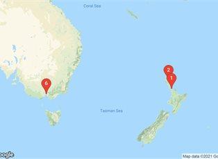 Pacific Explorer, Classic Short Break ex Auckland to Melbourne