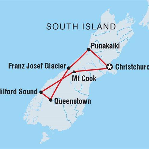 New Zealand South Island Explorer