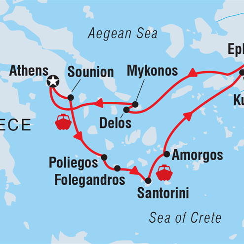 Cruising the Islands of Greece & Turkey