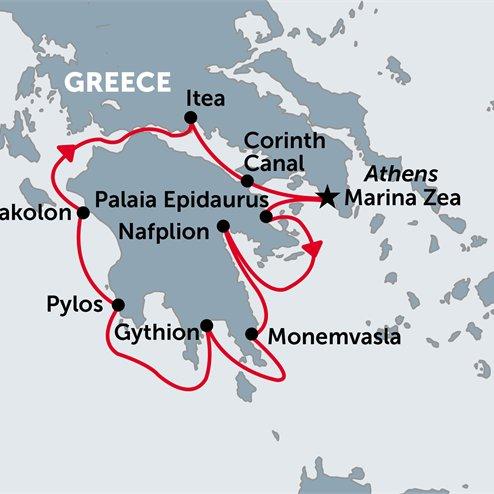 Greek Island Cruising (Antiquity to Byzantium)