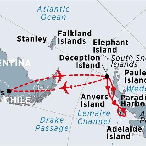 Antarctic Express – Crossing the Circle from Punta Arenas