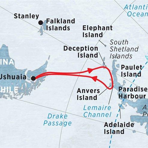 Pristine Antarctica 11 days from Ushuaia