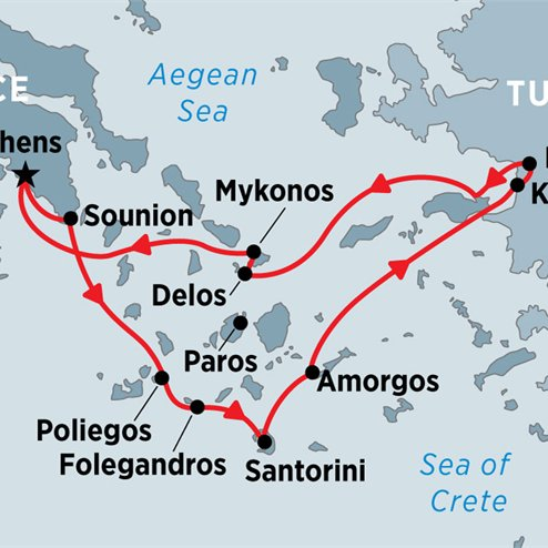 Cruising the Islands of Greece and Turkey