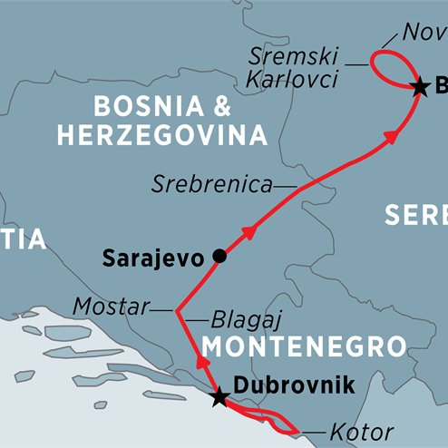 Highlights of the Western Balkans