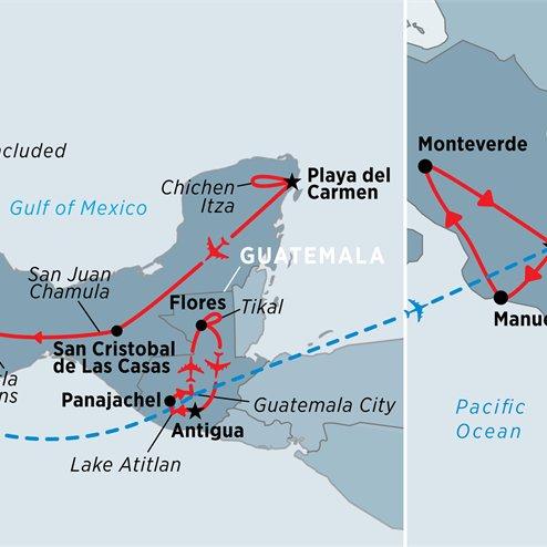 Central America Highlights