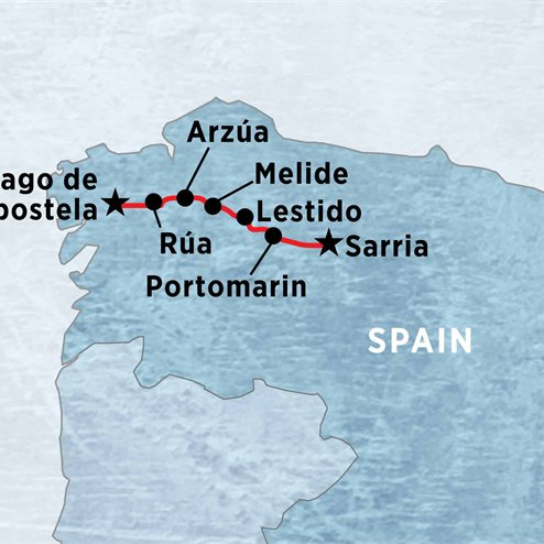 A Week on the Camino (self-guided)