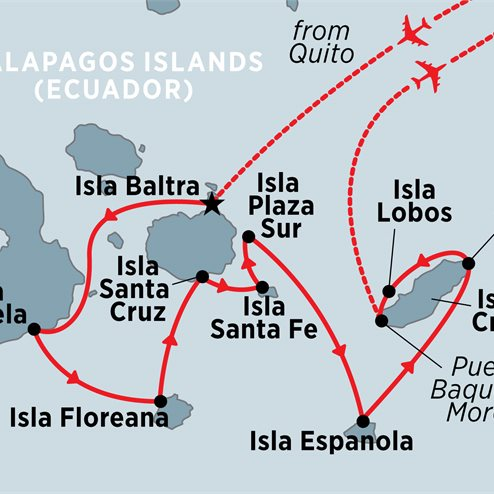 Classic Galapagos: Southern Islands (Grand Queen Beatriz)